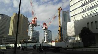 横浜市庁舎の工事が進んでいます.jpg