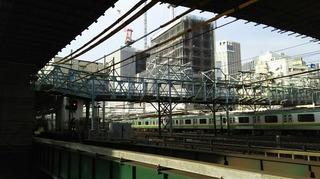 横浜駅西口の開発工事が進んでいます。.jpg